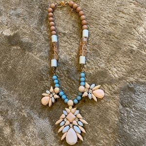 Spring! Art Deco inspired costume jewelry necklace